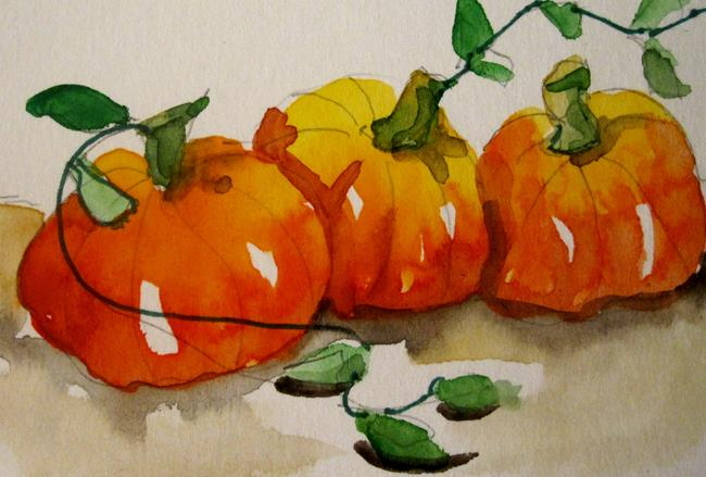 Art: Pumpkin Patch by Artist Delilah Smith