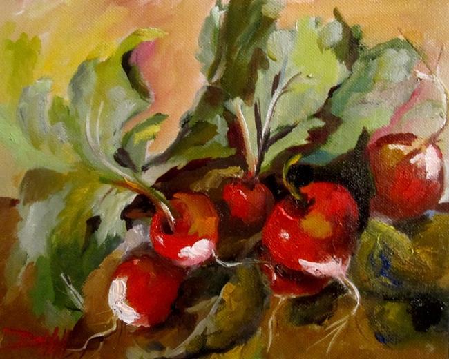 Art: Radish No.2 by Artist Delilah Smith