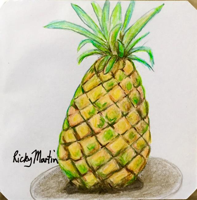 Art: Pineapple by Artist Ulrike 'Ricky' Martin