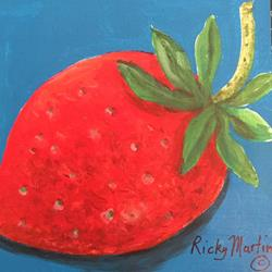 Art: Strawberry by Artist Ulrike 'Ricky' Martin