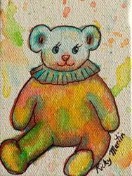 Art: Teddy Toy by Artist Ulrike 'Ricky' Martin