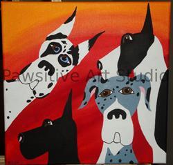 Art: The Neal Crew by Artist Rachel Allen
