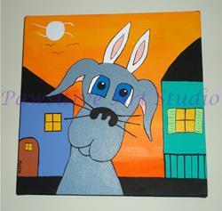 Art: Bunny Dane by Artist Rachel Allen