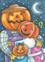 Art: HAPPY JACK FAMILY by Artist Susan Brack