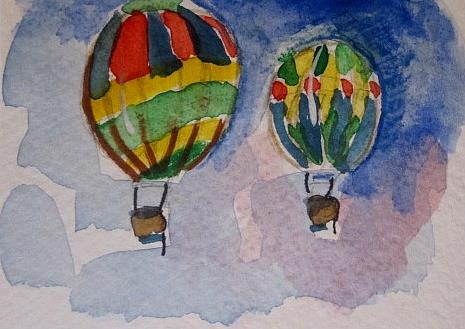Art: Hot Air Balloons by Artist Delilah Smith