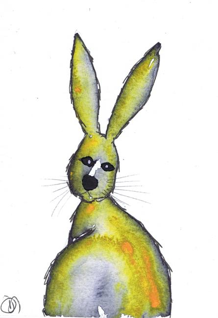Art: RABBIT h3100 by Artist Dawn Barker