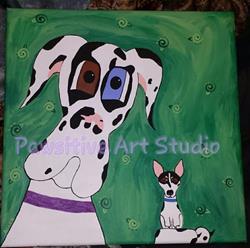 Art: Little Buddy by Artist Rachel Allen