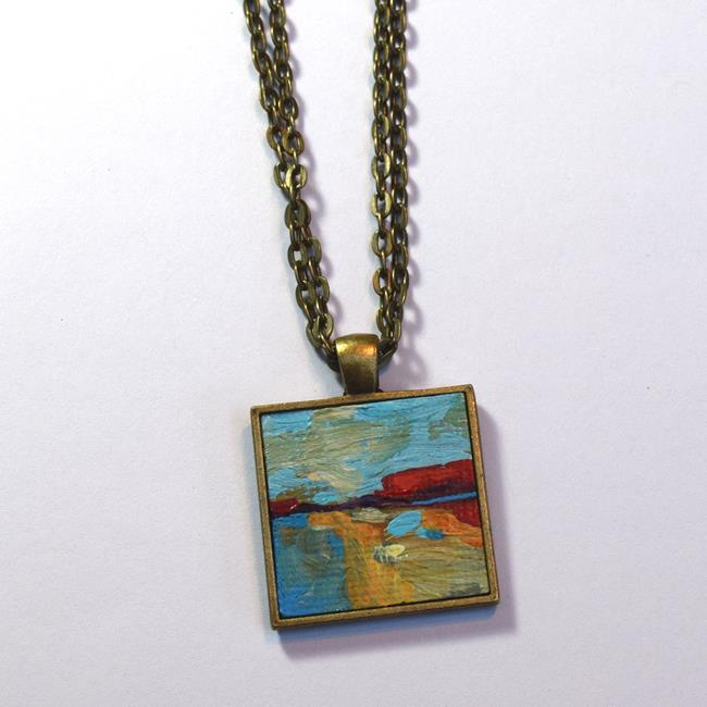 Art: Sunday Afternoon ~ Original Wearable Art ~ Sold by Artist Dana Marie