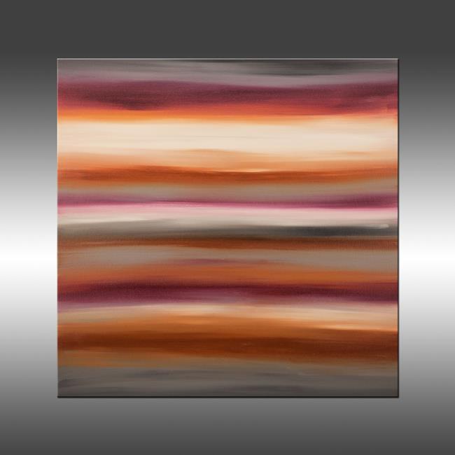 Art: Sunset 34 by Artist Hilary Winfield