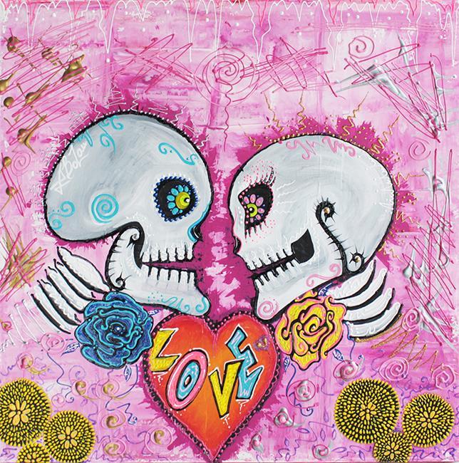 Art: Love Story by Artist Laura Barbosa