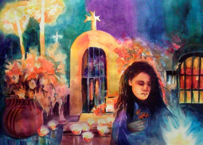 Art: Ofrenda (Altar) by Artist Karen Winters