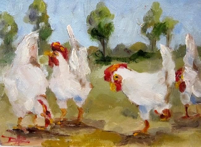 Art: Chicken Ranch  No. 2 by Artist Delilah Smith