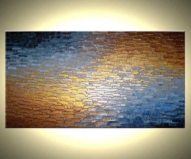 Art: Along The Golden Path by Artist Daniel J Lafferty