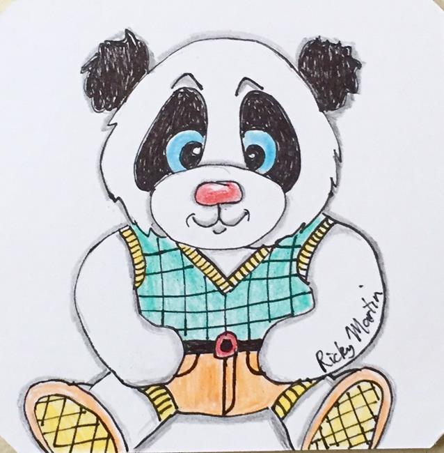Art: Panda by Artist Ulrike 'Ricky' Martin