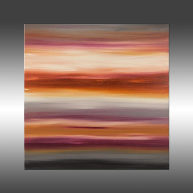 Art: Sunset 33 by Artist Hilary Winfield