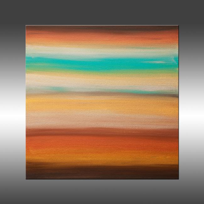 Art: Sunset 35 by Artist Hilary Winfield