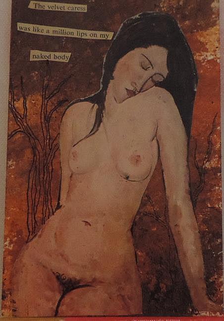 Art: the velvet caress by Artist Nancy Denommee