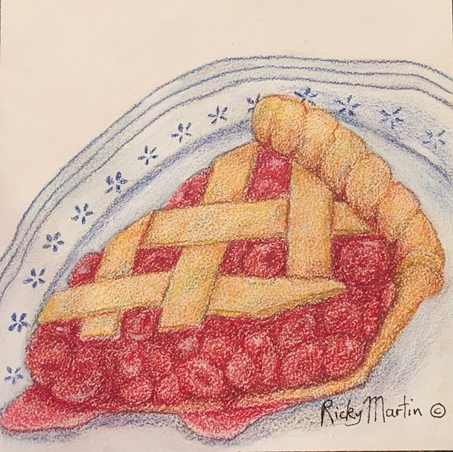 Art: Berry Pie by Artist Ulrike 'Ricky' Martin