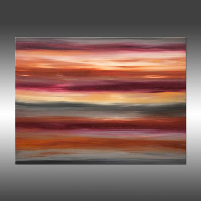 Art: Sunrise 33 by Artist Hilary Winfield