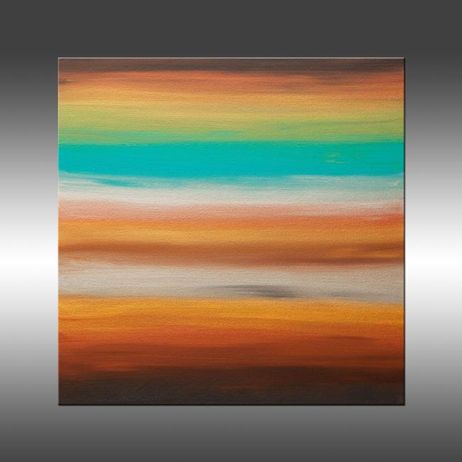 Art: Sunset 36 by Artist Hilary Winfield