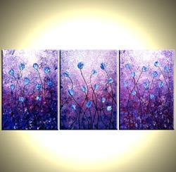 Art: TULIPS BEFORE DAWN by Artist Daniel J Lafferty