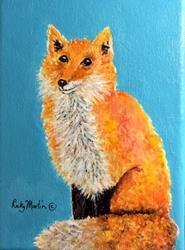 Art: Fox by Artist Ulrike 'Ricky' Martin