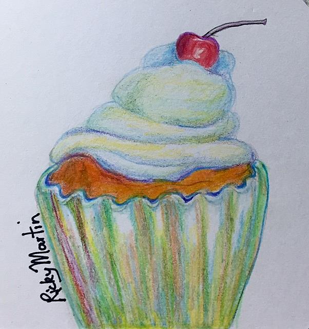 Art: Cupcake by Artist Ulrike 'Ricky' Martin