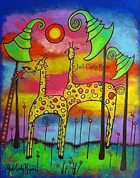 Art: High Tea by Artist Juli Cady Ryan