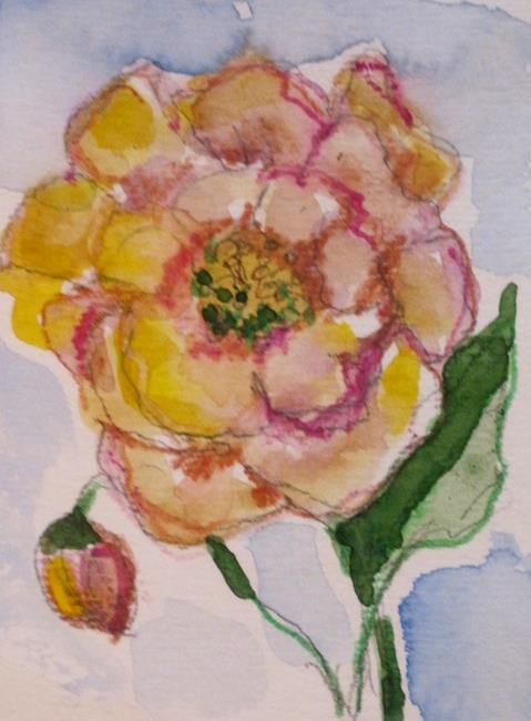 Art: Wild Rose by Artist Delilah Smith