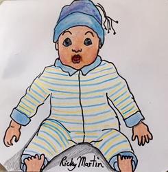 Art: Baby Doll by Artist Ulrike 'Ricky' Martin