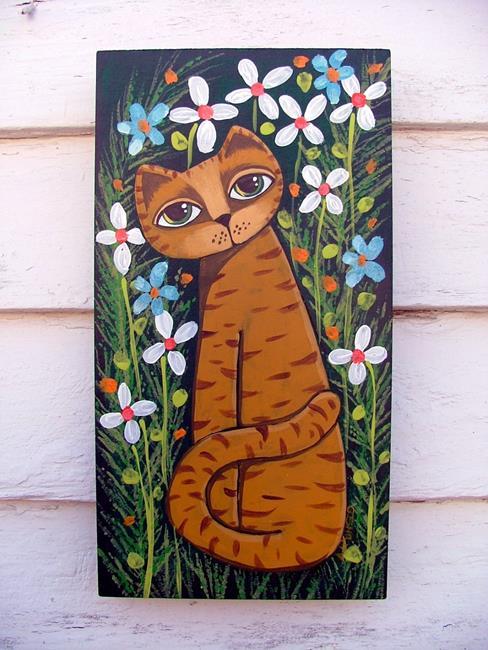Art: Garden by Artist Cindy Bontempo (GOSHRIN)