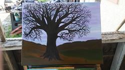 Art: lilac Sky by Artist christi lynn schwartzkopf