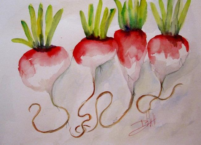 Art: Radish by Artist Delilah Smith