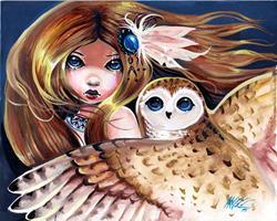 Art: Keeps Watch by Artist Nico Niemi
