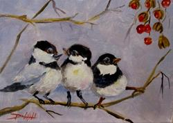 Art: Out on a Limb by Artist Delilah Smith