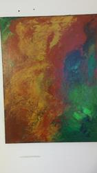 Art: Molten colors by Artist christi lynn schwartzkopf