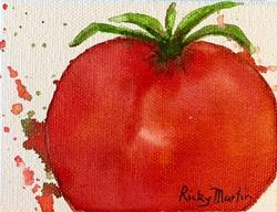 Art: Tomato by Artist Ulrike 'Ricky' Martin