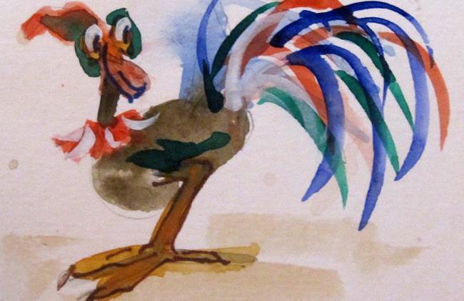 Art: Fancy Tail by Artist Delilah Smith