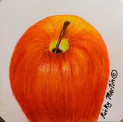 Art: Apple by Artist Ulrike 'Ricky' Martin