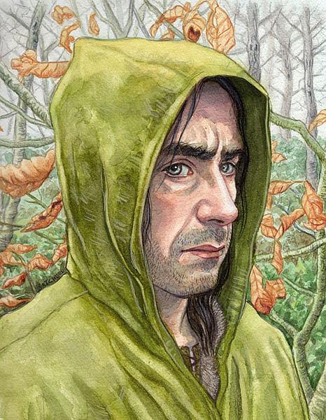 Art: Strider (Aragorn) by Artist Mark Satchwill