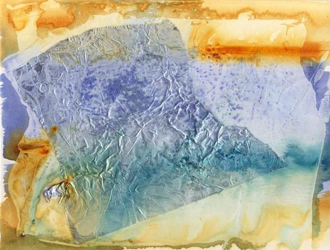 Art: Sedimentary III by Artist Gabriele Maurus