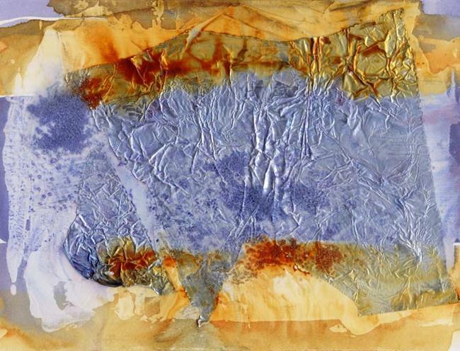 Art: Sedimentary IV by Artist Gabriele Maurus