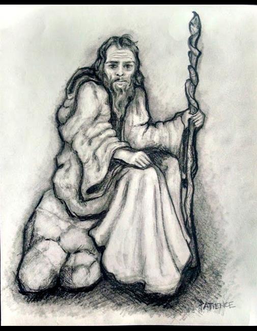 Art: Gray Wizard by Artist Patience