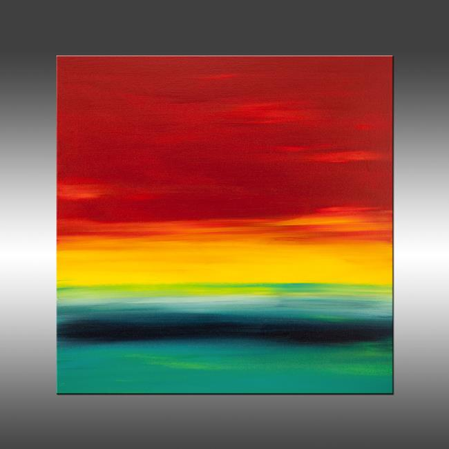 Art: Sunset 29 by Artist Hilary Winfield