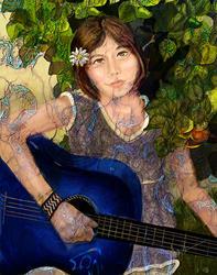 Art: Nina by Artist Alma Lee