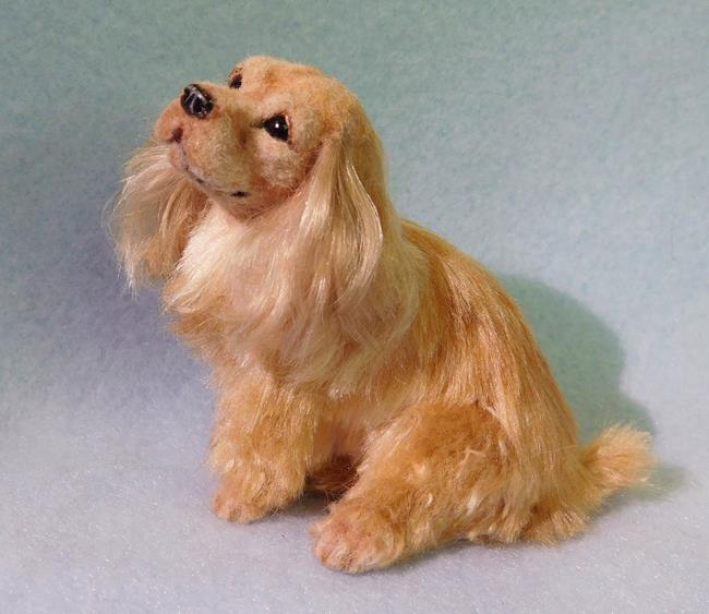 Art: Silk Furred Cocker Spaniel by Artist Camille Meeker Turner