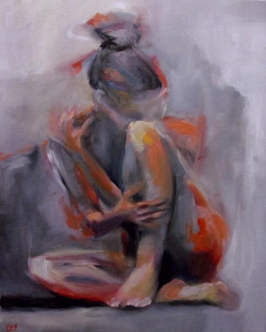 Art: Fading in an Empty Room by Artist Christine E. S. Code ~CES~