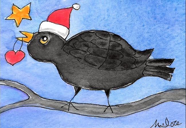 Art: Christmas Heart 2 by Artist Melinda Dalke