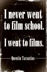 Art: Tarantino Quote Poster by Artist Milena Gawlik