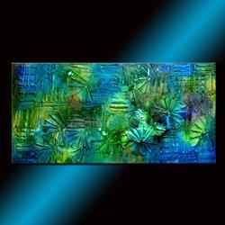 Art: SOMETIMES WHEN IT RAINS by Artist HENRY PARSINIA